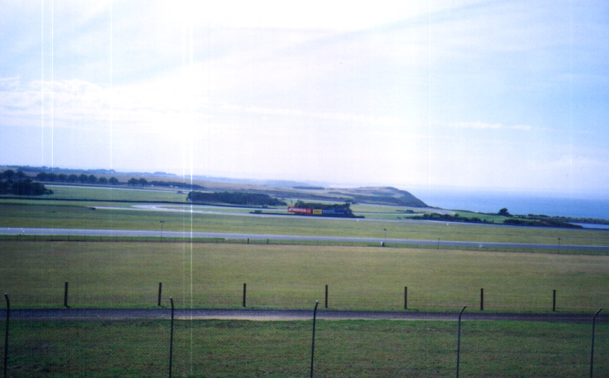 The racetrack at Phillip Island minus the bikes.